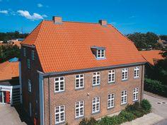 Dachziegel naturrot HOHLPFANNE Langschnitt, Natur-Brand Nr. 11 - naturrot - www.laumans.de
