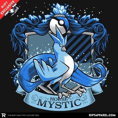 House Mystic - Articlaw T-Shirt - Pokémon Go T-Shirt is $11 today at Ript!
