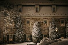 Single Sister's House in Bethlehem, PA. Built by Moravian architects in the late 1700's