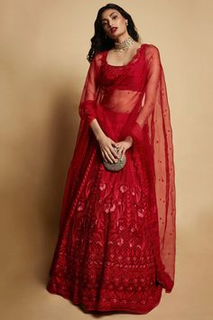 Anita Dongre Lehenga worn by Athiya Shetty Contact our Stylist for any queries or price details at Dress Indian Style, Indian Fashion Dresses, Indian Designer Outfits, Indian Bridal Wear, Indian Wedding Outfits, Indian Outfits, Indian Wear, Lehnga Dress, Lehenga Choli