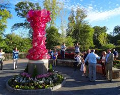 New Chihuly sculpture in Greenville, SC