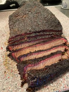 Just a salt pepper rub on this baby www.ClaudesSauces.com Brisket, Salt And Pepper, Steak, Beef, Homemade, Secret Obsession, Healthy, Food, Recipes