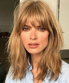 Choppy Long Bob With Bangs | www.pixshark.com