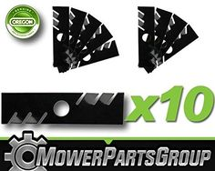Ship from USA P505 10 Gator Edger Blades 9 x 2 Fits Troy Bilt TB516EC 78100800637 ITEM NOE8FH4F854131532 * Click on the image for additional details.