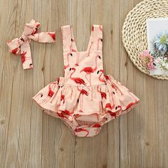 Check out this great stuff I just found at PatPat! Baby Clothes Online, Cute Baby Clothes, Baby Clothes Shops, Flamingo Print, Printed Denim, Stylish Baby, Cool Outfits, Amazing Outfits, Cute Babies