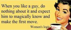 That logic...