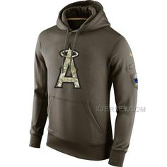 http://www.xjersey.com/angels-olive-green-salute-to-service-hoodie.html ANGELS OLIVE GREEN SALUTE TO SERVICE HOODIE Only $53.00 , Free Shipping!