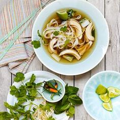 Chicken Pho, a classic Vietnamese soup, is a perfect recipe for a slow cooker.
