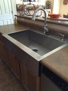 Top Mount Apron Sink White : Undermount Apron Front Stainless Steel 33 in. Double Bowl Kitchen Sink ...