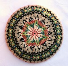 Wow. I would love to knit this. So beautiful!