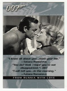 James Bond - The Quotable # 15 - From Russia With Love
