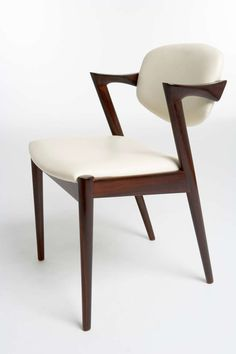 Kai Kristiansen rosewood dining chairs made between 1957 and 1970