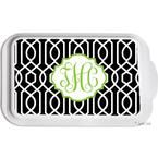 Mongrammed Casserole Pans- Design Your Own Personalized Casserole Dish for a Monogram Hostess Gift | LipstickShades.com