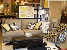 Linkin sofa and Basie Chair