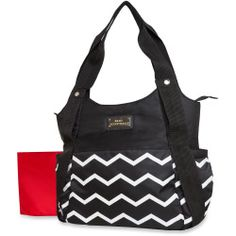 Tender Kisses Diaper Bag & Changing Pad - Chevron