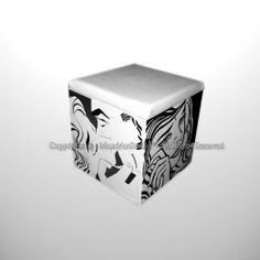 Pouf Roy Lichtenstein pop art dipinto a mano Roy Lichtenstein Pop Art, Decorative Boxes, Container, The Originals, Decorative Storage Boxes