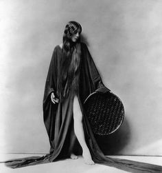 """Silent film actress and dancer, Olive Ann Alcorn, 1920's, best known for her roles in """"The Phantom of the Opera"""" (1925) and Charlie Chaplin's """"Sunnyside"""" (1919)."""