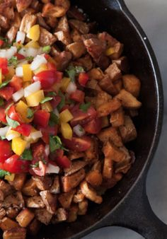 This spicy potato dish is perfect for dinner!