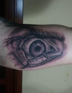 clockwork orange eye tattoo