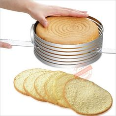 15-30 cm Stainless Steel Adjustable Layer Cake Slicer