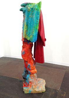 Rachel Harrison's 'Sculpture with Raincoat' 2012. Art Experience:NYC http://www.artexperiencenyc.com/social_login