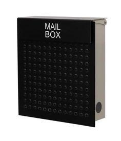 Modern Wall Mount Mailbox Black New Innovation Perfectly Design For Every House