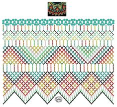 Дыхание Бисера's photos Diy Necklace Patterns, Beaded Jewelry Patterns, Bead Loom Patterns, Peyote Patterns, Beading Patterns, Fabric Origami, Beaded Crafts, Beaded Collar, Bead Jewellery