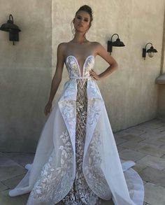 Different Wedding Dresses Why White Wedding Dresses Brides attracted attention with their wedding dresses, white clothes came to the fore. The first bride to come to the fore. Different Wedding Dresses Different Wedding Dresses, Dream Wedding Dresses, Bridal Dresses, Wedding Gowns, Princess Wedding Dresses, Dresses Dresses, Wedding Robe, Fit And Flare Wedding Dress, Country Wedding Dresses