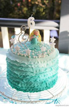 Not the mermaid..just the cake design