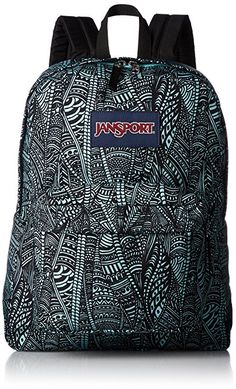Amazon.com: JanSport Superbreak Backpack- Discontinued Colors (Multi Navy Connect Four): Clothing
