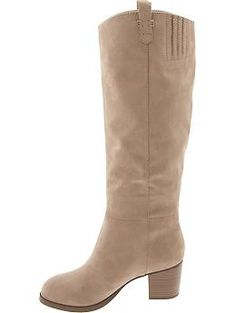 Sueded Tall Boots | Old Navy