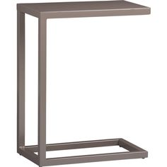 Grey C Table in Accent Tables | Crate and Barrel