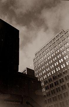 Place Desjardins, Montréal Québec photo by Richard Guimond © 1977 19771104