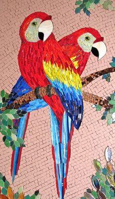 Read message stny rr com Mosaic Tile Art, Mosaic Artwork, Mosaic Crafts, Mosaic Projects, Mosaic Glass, Glass Art, Stained Glass Birds, Stained Glass Designs, Mosaic Designs