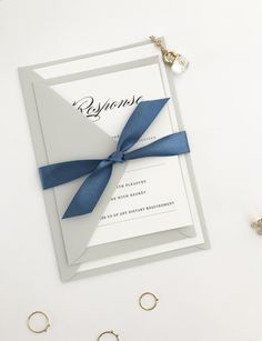 Simple and Clean Classic Wedding Invitation
