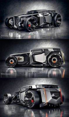 35 Unofficial Concept Car Designs You Will Wish Were Real – Moon Angel Gallery Custom Muscle Cars, Custom Cars, Kart Cross, Best Luxury Cars, Futuristic Cars, Transporter, Unique Cars, Car Tuning, Modified Cars
