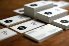 Brand New Bussines Card by Estudio Tricota , via Behance