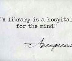 """A library is a hospital for the mind"". #shawnesaid #livingyourdreams #MultiPrenuerEntrepreneur #livingintheoverflow #failureisnotanoption #millionaireinthemaking #journey #excellence #life #travel #PlanNetMarketing #inteletravel #globalwealth  Shawneperryman.com"