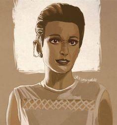Major Kira Nerys of Star Trek: Deep Space Nine