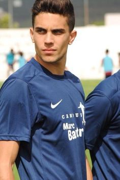 Marc Bartra <3 so handsome, perfect face