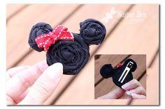 Minnie Mouse hairclip hair-pretties