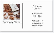 bakery desserts Premium Business Cards