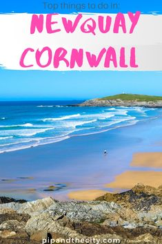 Top things to do in Newquay Cornwall Surfing, Cornwall Beaches, Things To Do In Cornwall, Things To Do In London, Cornwall England, Yorkshire England, Yorkshire Dales, One Day Trip, Day Trips