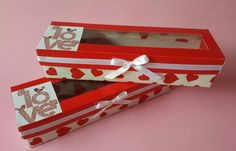 Cupcakes boxes Handmade Valentine's day
