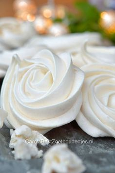 meringues schuimpjes bakken