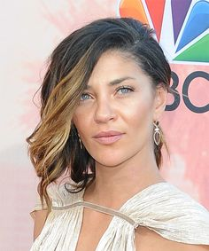 Jessica Szohr Updo - Wavy Casual Hairstyle - Black | TheHairStyler.com