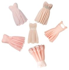 """""""Light Pink Dresses"""" by angelicasmile on Polyvore"""