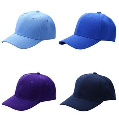 Men s Plain Solid Color Adjustable Baseball Hats Curved Visor Men s Fashion  Accessories Style Baseball Hats Outfit Shop Product Website Store Online 1871c06885