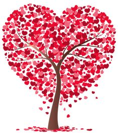 Heart Tree Transparent PNG Image