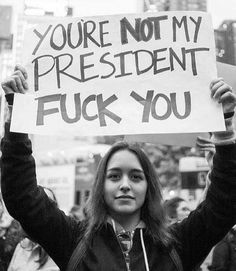 After 8 years of listening to this from the residents of Dumfukistan, we at least have a rational and logical reason to feel this way about Trump. Protest Signs, Change, Atheist, Human Rights, That Way, Donald Trump, Presidents, Quotes, Twitter